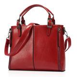 方法オイルのワックスの女性の肩の革ハンドバッグ袋
