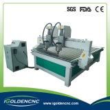 3 Köpfe CNC-Fräser-Maschinen-Holzbearbeitung