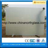 Vidro temperado de vidro geado, matizado ou claro de 6mm