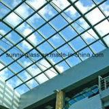 Стекло покрашенное безопасностью прокатанное для стекла здания