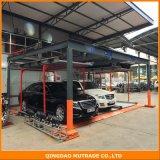 半自動手段持ち上げ滑走装置スマートな自動化された車の困惑の駐車システム