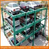 Semi-automatique de l'équipement Lift-Sliding véhicule Smart automatisé Puzzle Système de stationnement de voiture