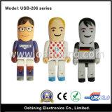USB Pendrive 4GB, 8GB, 16GB dell'OEM Mr. Socker… (Serie USB-206)