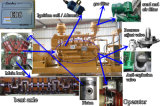 Generador de gas de carbón 500kw con CE, ISO