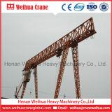 Кран на козлах прогона двойника ферменной конструкции ворота Weihua 50-100t электрический
