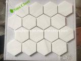 Белые мраморный каменные мозаики