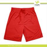изготовленный на заказ  мужская баскетбол спорт красный короткие брюки (KS-002)