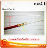 Fil de chauffage en caoutchouc de silicones du diamètre 4mm 110V 20W/M