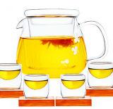 Vendita calda nell'europeo con la caldaia di tè del POT del tè del POT della spremuta della maniglia e del filtrante