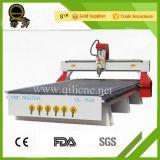 Máquina de talla de madera del CNC de la fuente de la fábrica con el cambiador neumático de la herramienta (QL-M25-X)