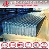 Feuille en acier ondulée de toiture d'ASTM A755m A792 Aluzinc