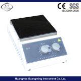 Agitateur magnétique de plaque chaude avec la plaque de chauffage en céramique en verre