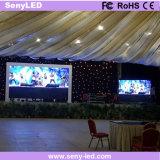 Écran d'intérieur de publicité polychrome d'Afficheur LED de panneau d'affichage (P4)