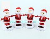Santa Claus Doll Solar Swing Car Decoração (JSD-P0063)