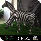 Zebra-Skulptur-Licht des Weihnachten3d