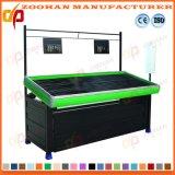 Cremalheira da prateleira do carrinho de indicador do armazenamento da fruta e verdura do supermercado (Zhv23)