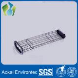 De industriële Kooi van de Zak van de Filter van het Stof van het Systeem van de Collector van het Stof (Koolstofstaal)