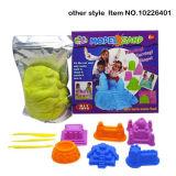 DIY Educational Toy 2000g Sand Baby Color Moon Magic Areia com 7 acessórios (10226403)
