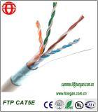 Cabos externos de FTP Cat5e de bainha única para comunicações digitais