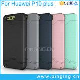 Huawei P10를 위한 은신처 신용 카드 슬롯 전화 상자 플러스