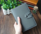 専門の習慣PUの革ハードカバーのノート