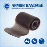 5cm 130 cm noir bandage d'étanchéité de fuite de bandes Fibre Fix Wrap pour tuyaux