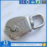 Ss304/SS316 Fundição de aço inoxidável Mame Bloco giratório