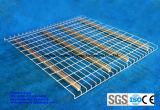 Het in het groot Rek Decking van de Pallet van het Netwerk van de Draad van het Metaal voor de Opslag van het Pakhuis