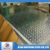 Tipo 304 placa do diamante do aço inoxidável