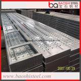 Piattaforma d'acciaio rivestita dello zinco