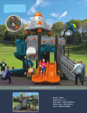 Unterhaltungs-quadratische Kind-im Freienspielplatz-Gerät