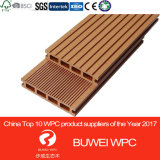 Напольная древесина Decking Brown WPC