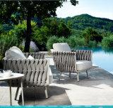 Seil gesponnenes Freizeit-Sofa stellte für Poolside ein
