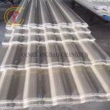 Prf lucarne feuille de carton ondulé en fibre de verre tuile ondulé en plastique
