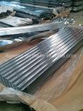 Material para techos acanalado galvanizado de gama alta del metal del material de construcción/material para techos del metal