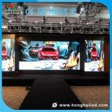 Visualización de LED de interior del alquiler P3 con la pared video