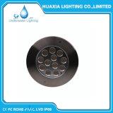 Indicatore luminoso subacqueo d'acciaio del raggruppamento di alto potere LED di RGB 316stainless
