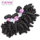 イボンヌの卸し売りバージンの毛の拡張巻き毛堅の新しい質のFumiの毛