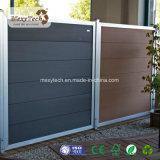 L'aluminium-ÉLECTRIQUE AUTOMATIQUE WPC Pliage avec WPC Clôture de la porte de garage