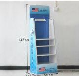 Crémaillère d'étalage quotidienne en métal d'épurateur de nécessités de personnalisation