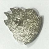Distintivo su ordinazione del tasto del magnete del metallo con il marchio del fiore