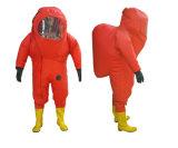Vêtement protecteur chimique/procès en caoutchouc lourd/procès chimique en caoutchouc