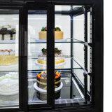 [962ل] [هيغقوليتي] تجاريّة قالب عرض مبرّد مع [سليد غلسّ دوور] لأنّ مخبز متجر