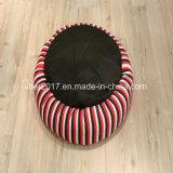 古典的な赤い縞デザイン猫のベッド小さい犬のベッドペットアクセサリ