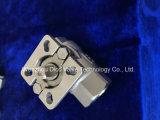 Nueva placa de fijación de acero inoxidable 2PC Válvula de bola de hilo