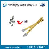 Telhas de carboneto de tungstênio e ferramenta de corte de vidro