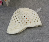 (LKN14015) Hiver Crochet Beanie Hat pour fille