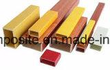 Perfis redondos de madeira da câmara de ar da câmara de ar/fibra de vidro da grão de FRP