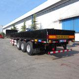 半トラックのトレーラー20FT/40FTの三車軸貨物トラックのトレーラー