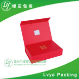 Rectángulo de empaquetado del embalaje de lujo magnético de encargo de la cartulina/rectángulo de papel/rectángulo de regalo de papel